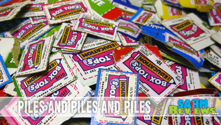 Back to School with Bonus Box Tops