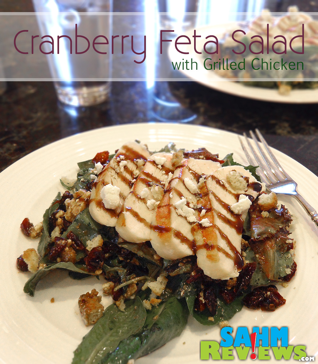 Cranberry Feta Salad with Grilled Chicken - SahmReviews.com