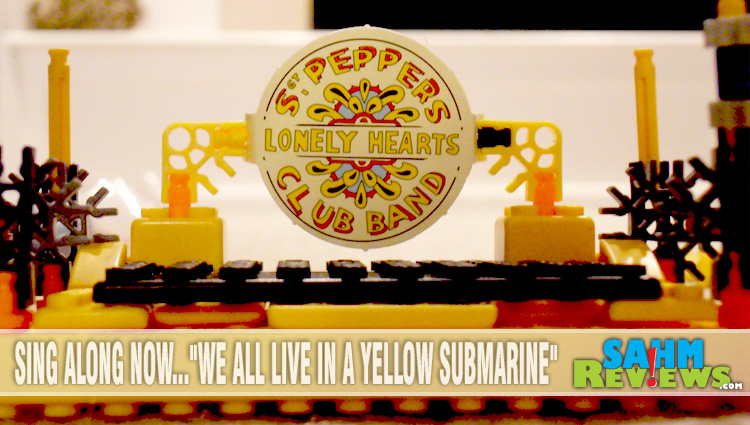 Constructing a Miniature Yellow Submarine
