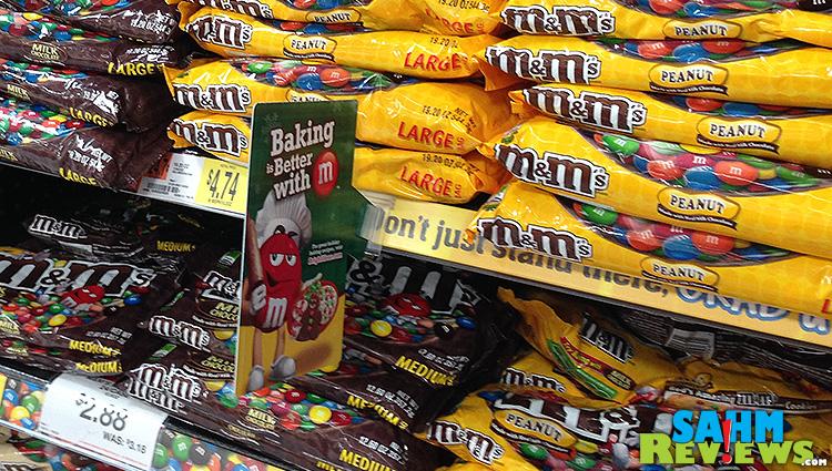 M&M's in Walmart #shop #bakingideas