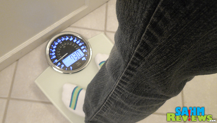 Ozeri Scale with person
