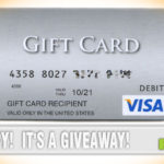 Visa Gift Card Giveaway - Hero
