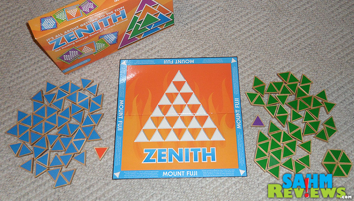 Zenith Strategy Game - Box Contents