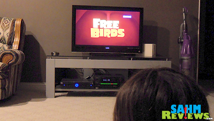 Chris Powell - Free Birds - Watching Movie - SahmReviews.com