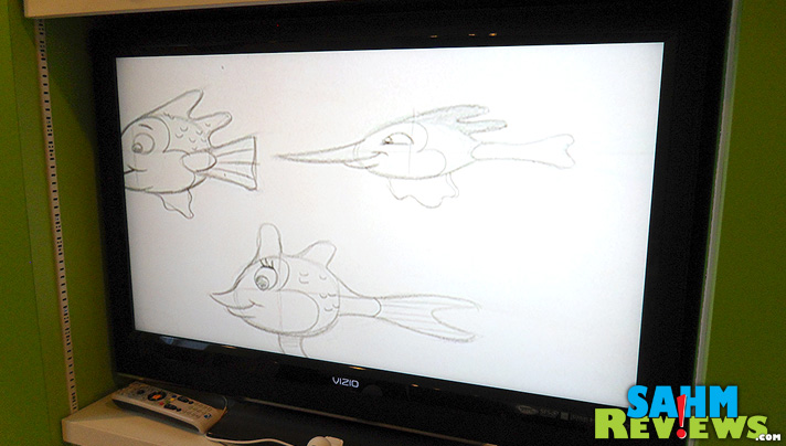 Learning to Draw with Mark - Screen - SahmReviews.com