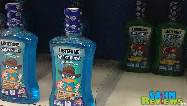 Listerine Antiseptic - Kids Smart Rinse - SahmReviews.com