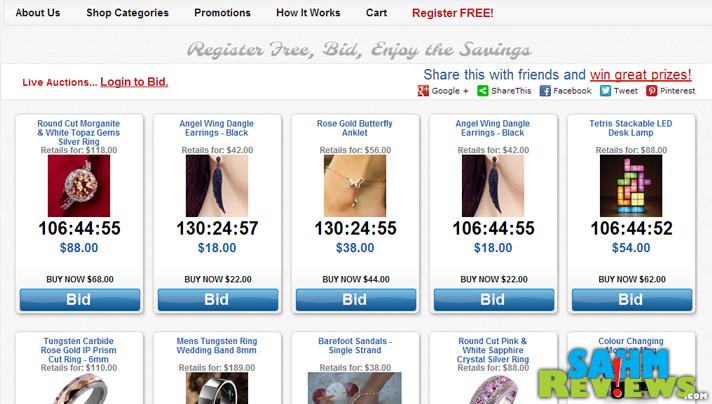 Penny Auctions - Daily Deals - SahmReviews.com
