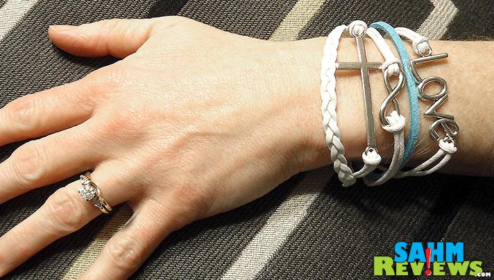 Penny Auctions - Leather Bracelet - SahmReviews.com