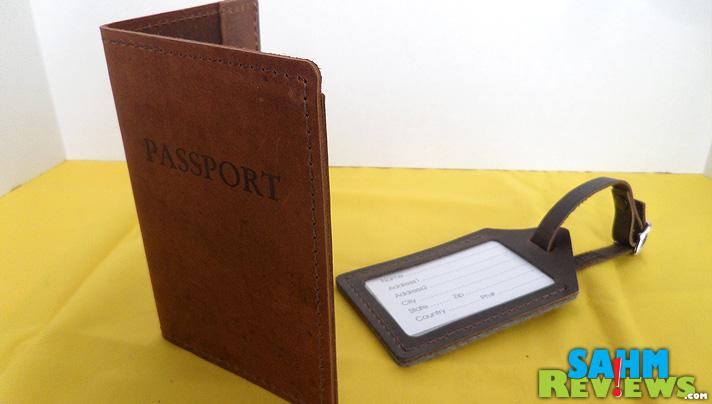 Rustico Travel Set - Passport Luggage Tag - SahmReviews.com
