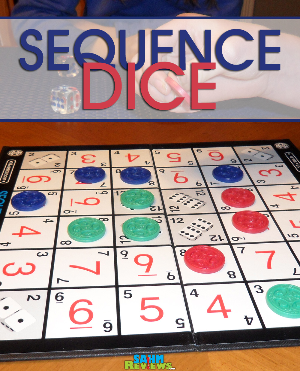 Sequence Dice - Pinterest