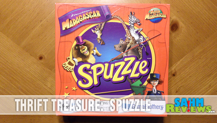 Thrift Treasure:  Spuzzle