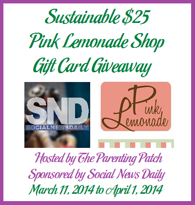 Enter for a chance to win a $25 Pink Lemonade Shop Gift Card - SahmReviews.com