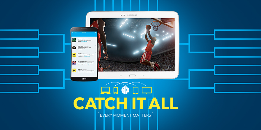 It's March Madness and you won't want to miss the close games, the blowouts and the upsets. You'll want to #CatchItAll with Best Buy! - SahmReviews.com