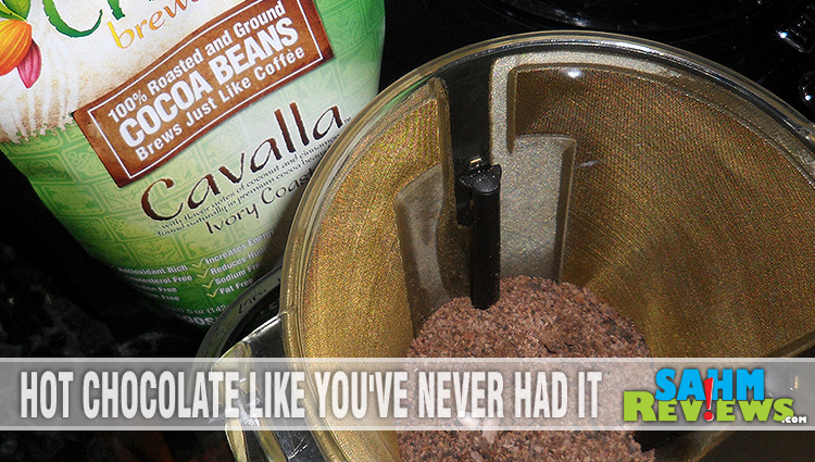 Brewing Chocolate Like Coffee? Yup!