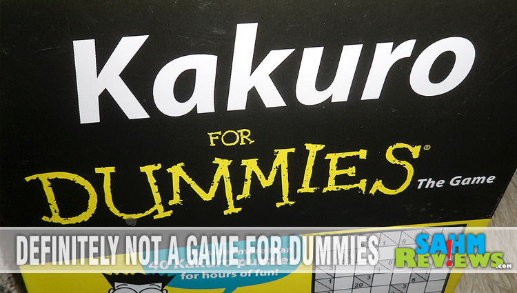Thrift Treasure:  Kakuro for Dummies