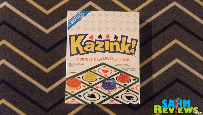 If you've ever played the original Sequence by Jax Games, then you HAVE to see Kazink! - SahmReviews.com