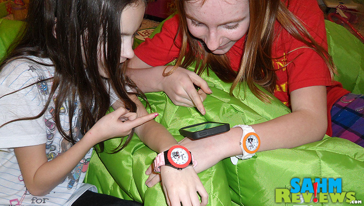Let your kids express their personality via colorful scented watch from Moffett Watches. --SahmReviews.