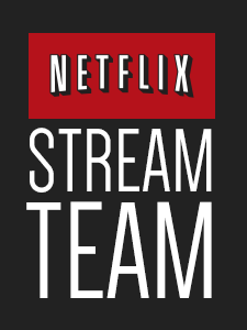 Proud to have been invited to be a member of the Netflix Stream Team!