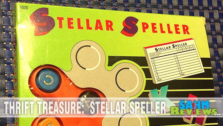 Thrift Treasure:  Stellar Speller