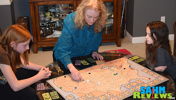 Boxcars by Rio Grande Games. Become a railroad tycoon in an afternoon! - SahmReviews.com