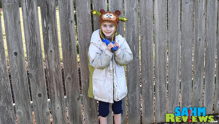 If YOU want your kids to dress warm, you have to make THEM to do it. Something as simple as a cool Flipeez hat can be all it takes. - SahmReviews.com