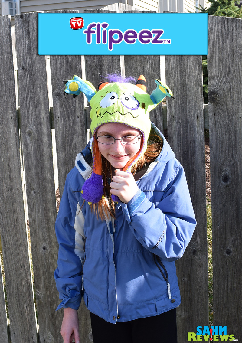 If YOU want your kids to dress warm, you have to make THEM want to do it.  Something as simple as a cool Flipeez hat can be all it takes. - SahmReviews.com