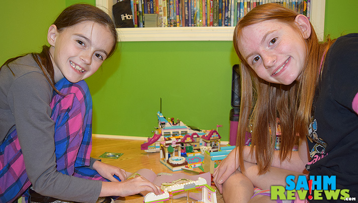 LEGO® Friends offers a great connection between imaginative and structured play. SahmReviews.com shares how that works at their home. #LEGOFriendsCGC