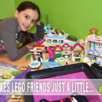 Lego Friends give girls inspiration to build. See what is under construction at SahmReviews.com - #LEGOFriendsCGC