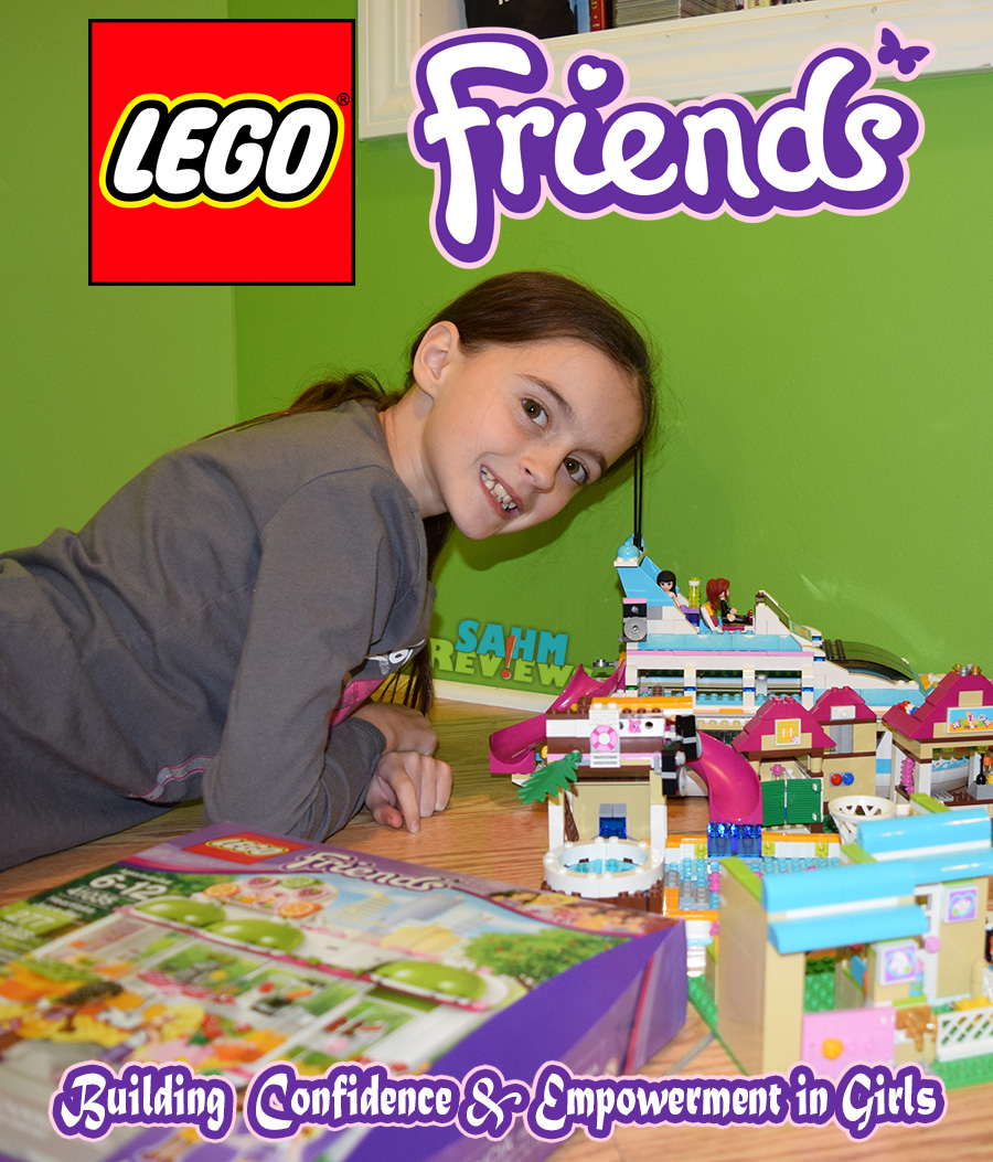 Lego Friends empower girls to construct ideas and solutions on their own. - SahmReviews.com #LEGOFriendsCGC