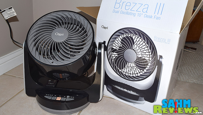 Beat the heat with this multi-directional oscillating fan from Ozeri. It even has a remote control! - SahmReviews.com