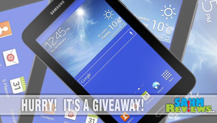 Samsung Galaxy Tab 3 Giveaway
