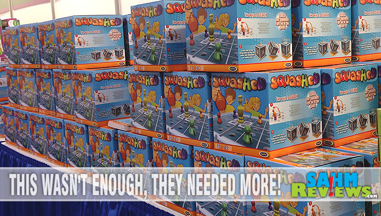 Squashed is a new game from PlaSmart that combines strategy with good old smashing! - SahmReviews.com