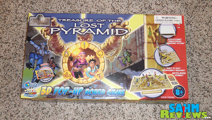 A 3-D board game from Basic Concepts, Relic Raiders: Treasure of the Lost Pyramid takes gaming up a level! - SahmReviews.com