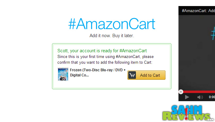 #AmazonCart is a new feature allowing you to add items to your Amazon cart without leaving your Twitter feed! - SahmReviews.com #cbias