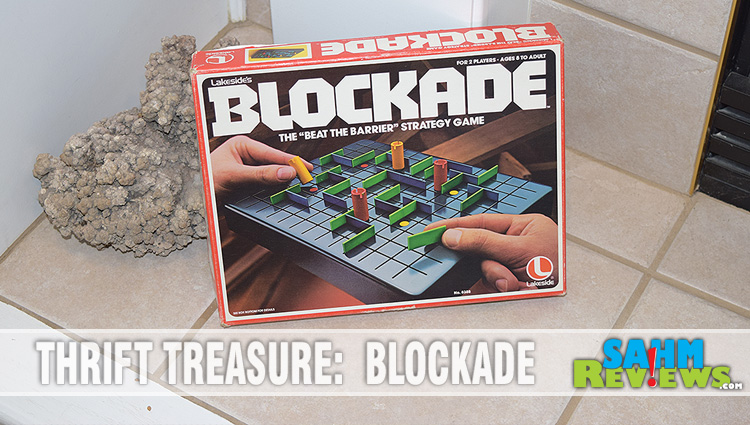 Thrift Treasure:  Blockade