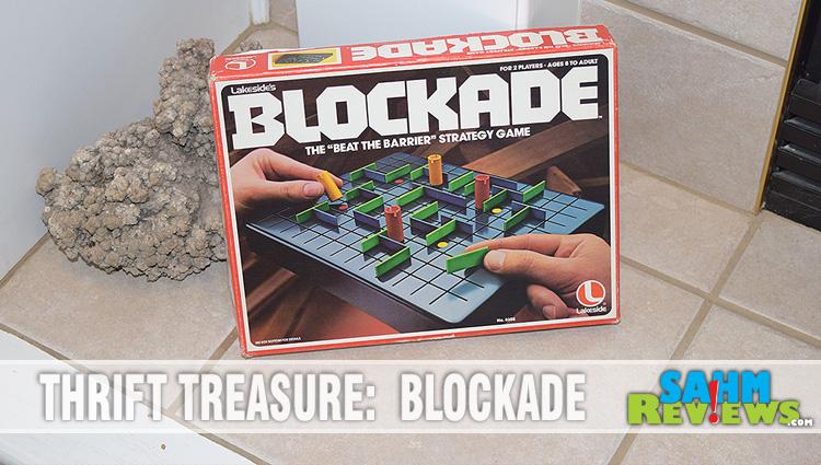 Thrift Treasure:  Blockade
