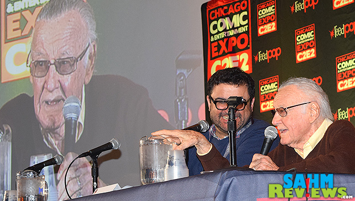 During C2E2, Stan Lee gave a teaser about his cameo in Guardians of the Galaxy. - SahmReviews.com
