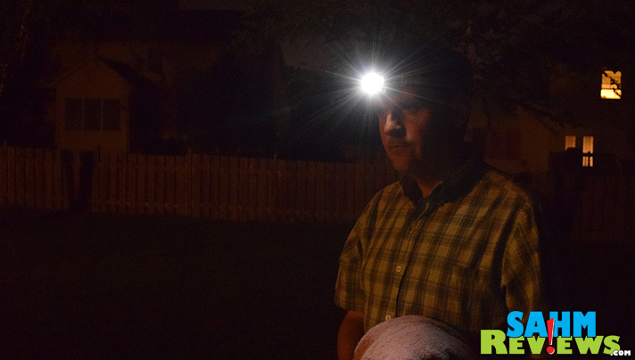 When we had a mid-May freeze, our only option was to cover the vegetables in the garden. But in the middle of the night it is pitch black. See how we handled it with a headlight from Northbound Train. - SahmReviews.com