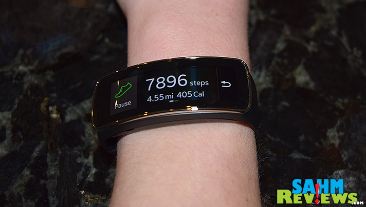 Wearable technology keeps getting better and better! SahmReviews.com shares scoop on the latest gadget, the Samsung Gear Fit. #CollectiveBias