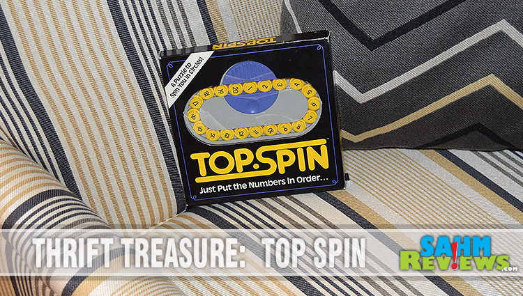 Thrift Treasure:  Top Spin