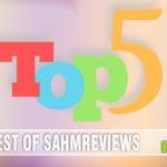 Semi-Annual Top 5 Games Roundup on SahmReviews.com