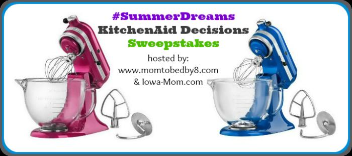 Enter to win a KitchenAid mixer! - SahmReviews.com