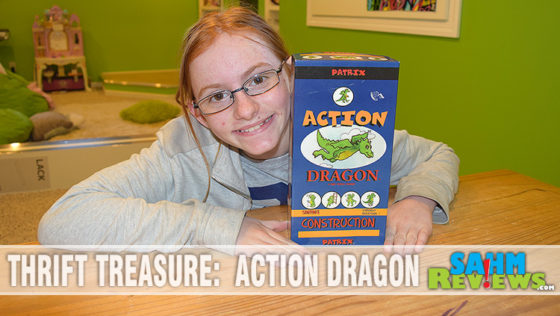 Thrift Treasure:  Action Dragon
