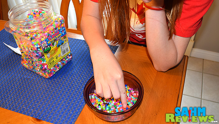 A single layer of beads is all it takes to create a cool bowl. - SahmReviews.com