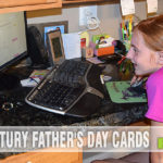 Using creativity to make the perfect Father's Day Card. #WorldsToughestJob - SahmReviews.com