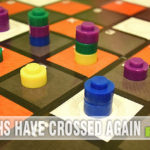 Upon request we tried out Crossways by USAopoly and were surprised by the strategy needed in this simple to learn game. See it for yourself at SahmReviews.com