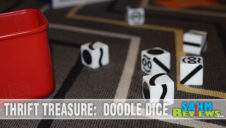 Thrift Treasure:  Doodle Dice