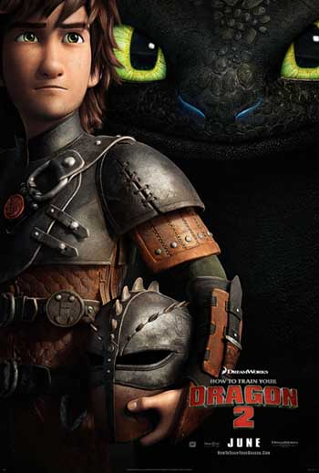How to Train Your Dragon 2 premiers in theaters (in IMAX 3D) on June 13th!