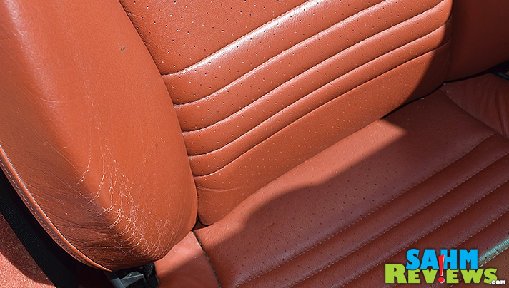 Chamberlain's Leather Milk is our latest must-have product for car detailing, softening and extending the life of our leather seats. - SahmReviews.com