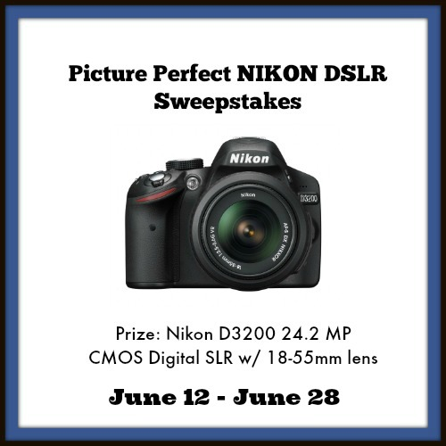 Stop by SahmReviews.com for your chance to win a Nikon DSLR camera! #giveaway